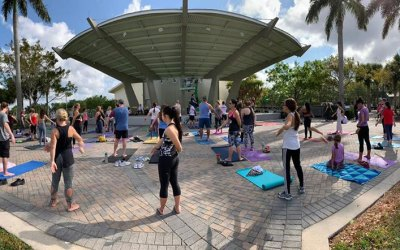 Qi Gong & Tai Chi in Parkland at Yoga4B with Acupuncturist