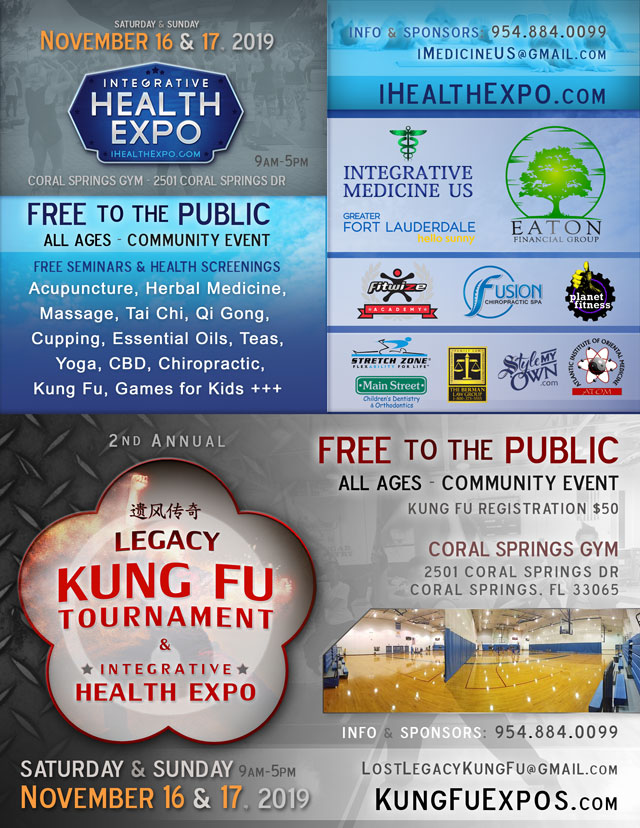 Integrative health fair Coral Springs November 2019