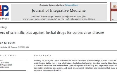 Dr. Fields published by NIH about Herbal Medicine