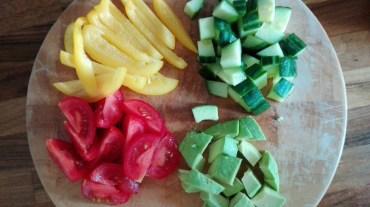 IIN -Rainbow Salad chopped salad