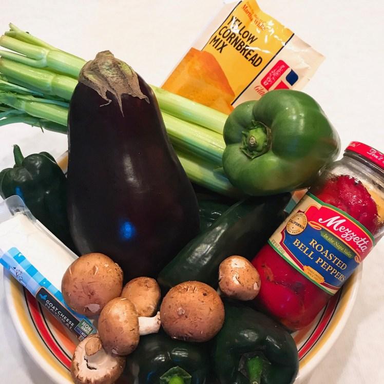 Eggplant ingredients