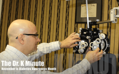 The Dr. K Minute: National Diabetes Awareness Month