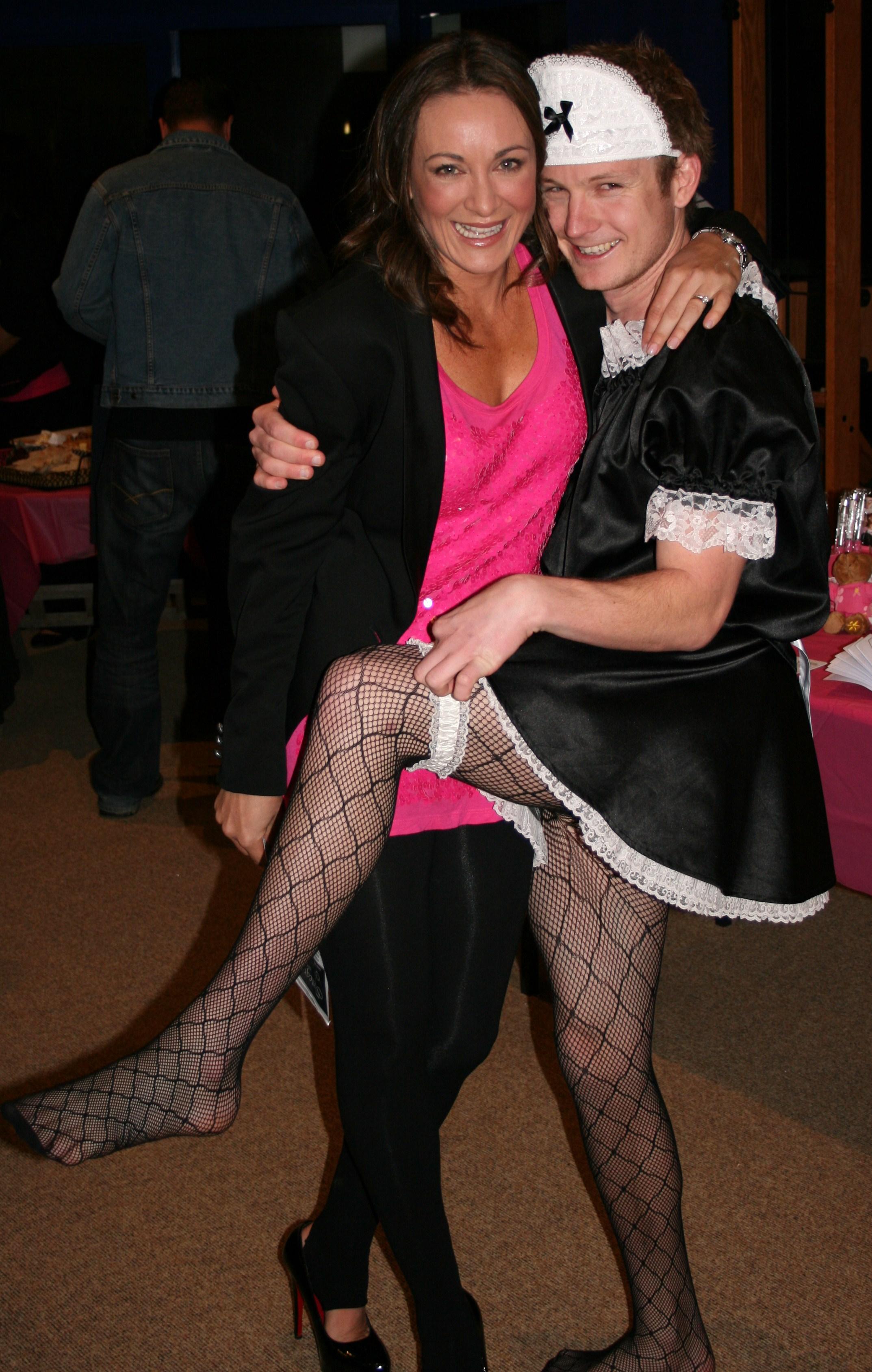 Michelle Bridges and Josh 124