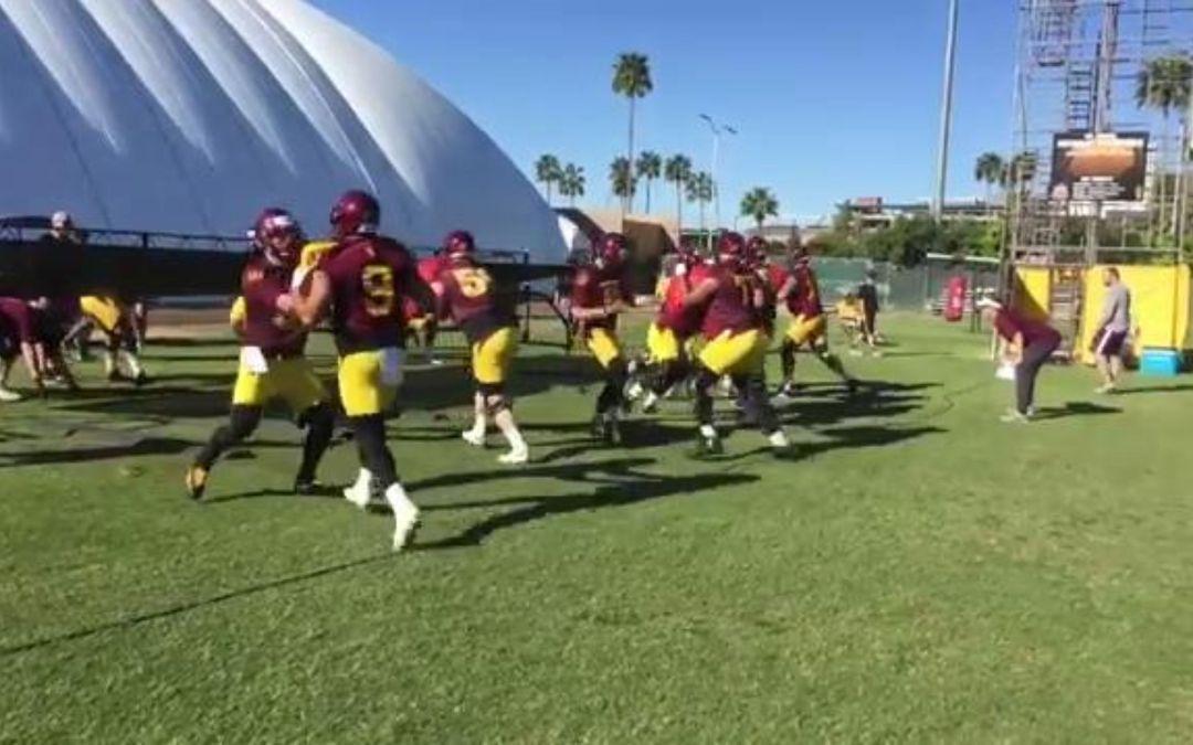 ASU football opens spring practice