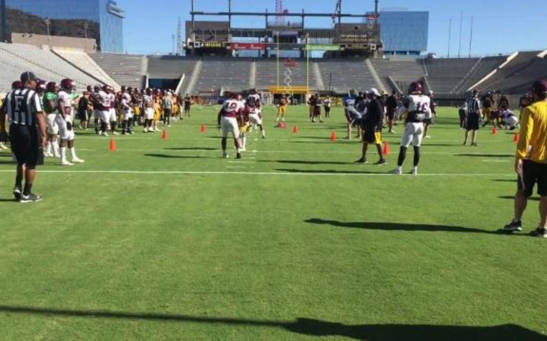 ASU football completes second week of spring practice