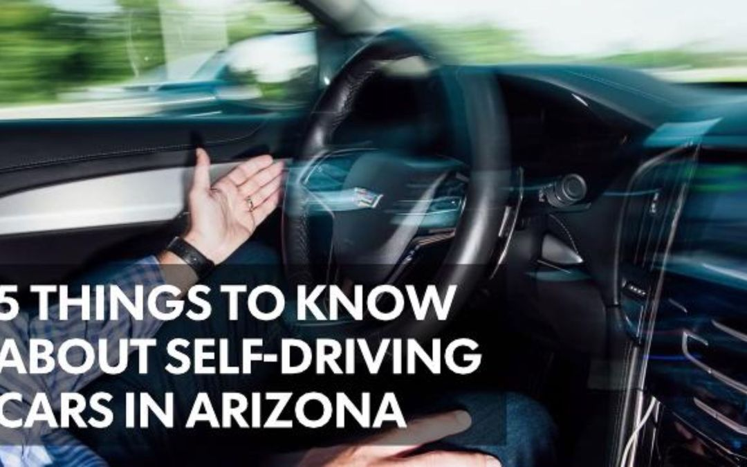 5 things to know about self-driving cars in Arizona
