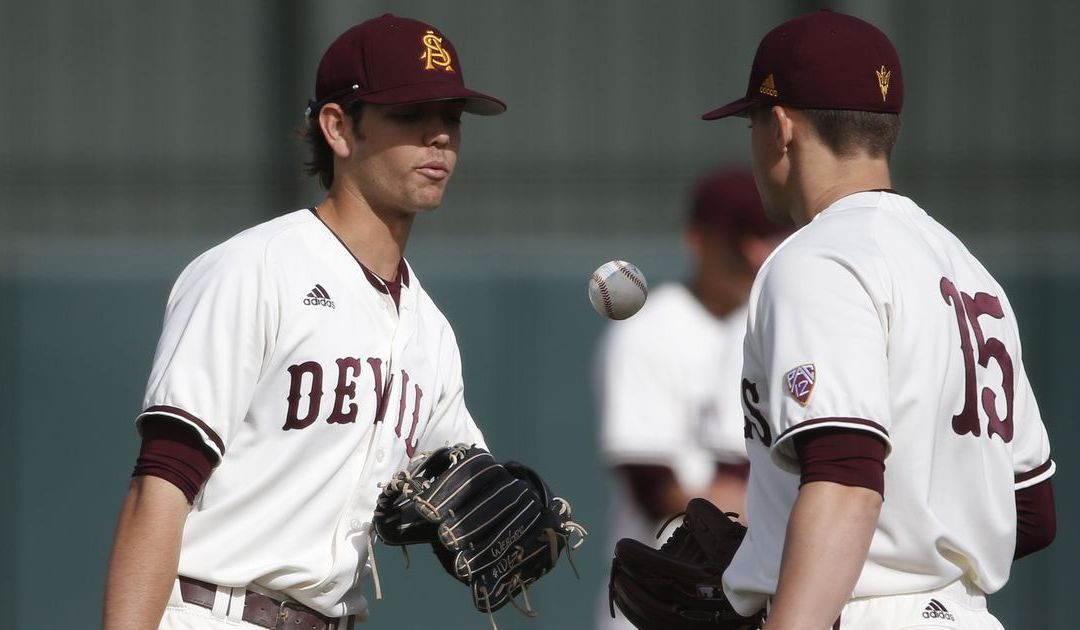 ASU baseball's bats go silent in loss to Oregon State