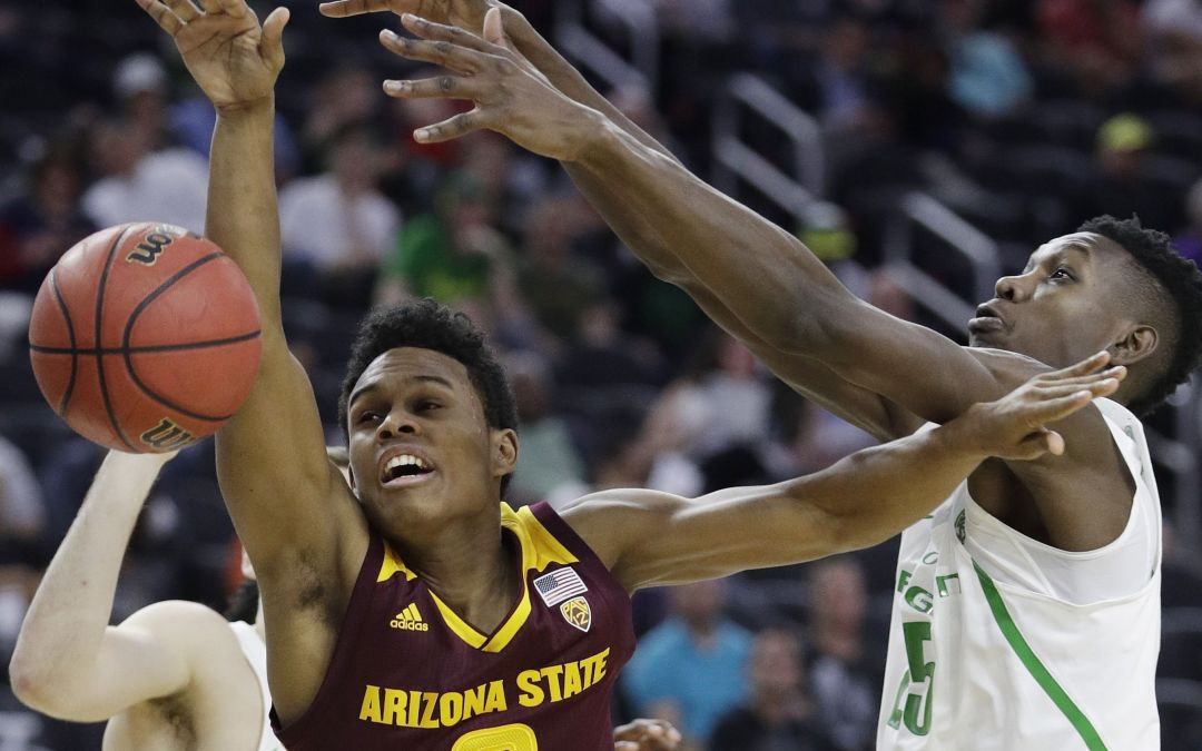 ASU basketball in 2017 Pac-12 Tournament