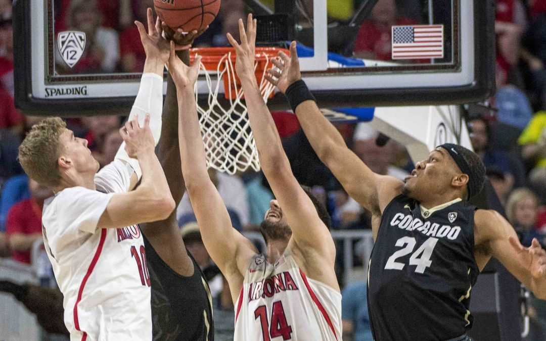 Arizona basketball in 2017 Pac-12 Tournament