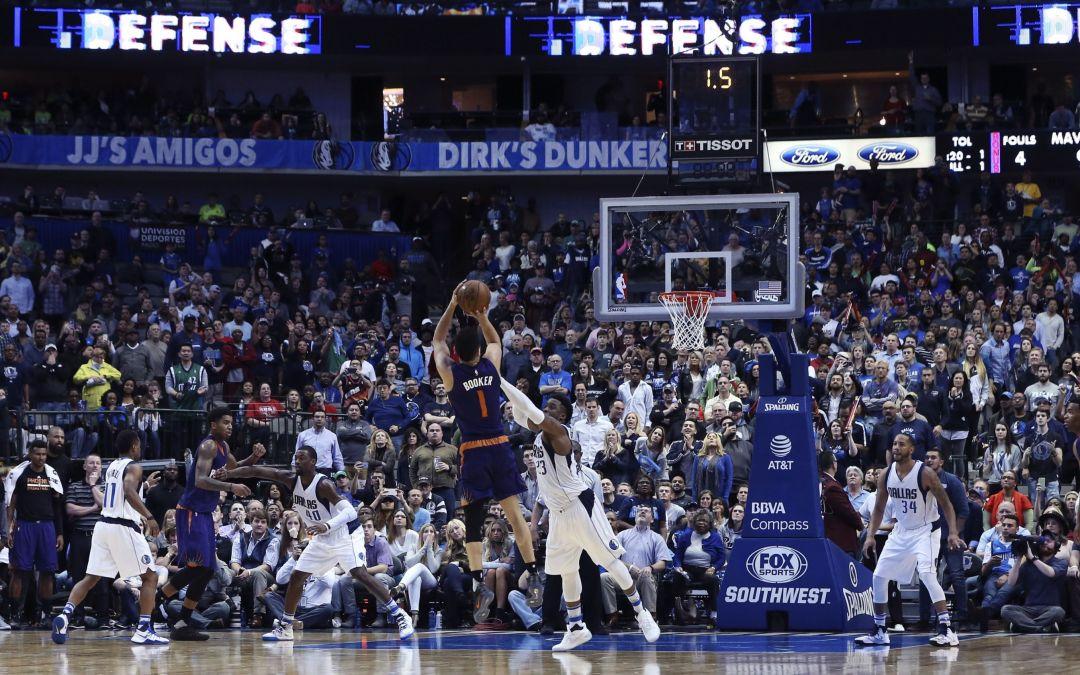 Suns' Devin Booker beats Mavericks at the buzzer