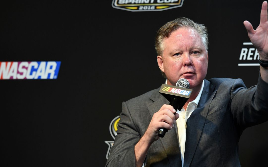 NASCAR's Brian France taking racing in new direction