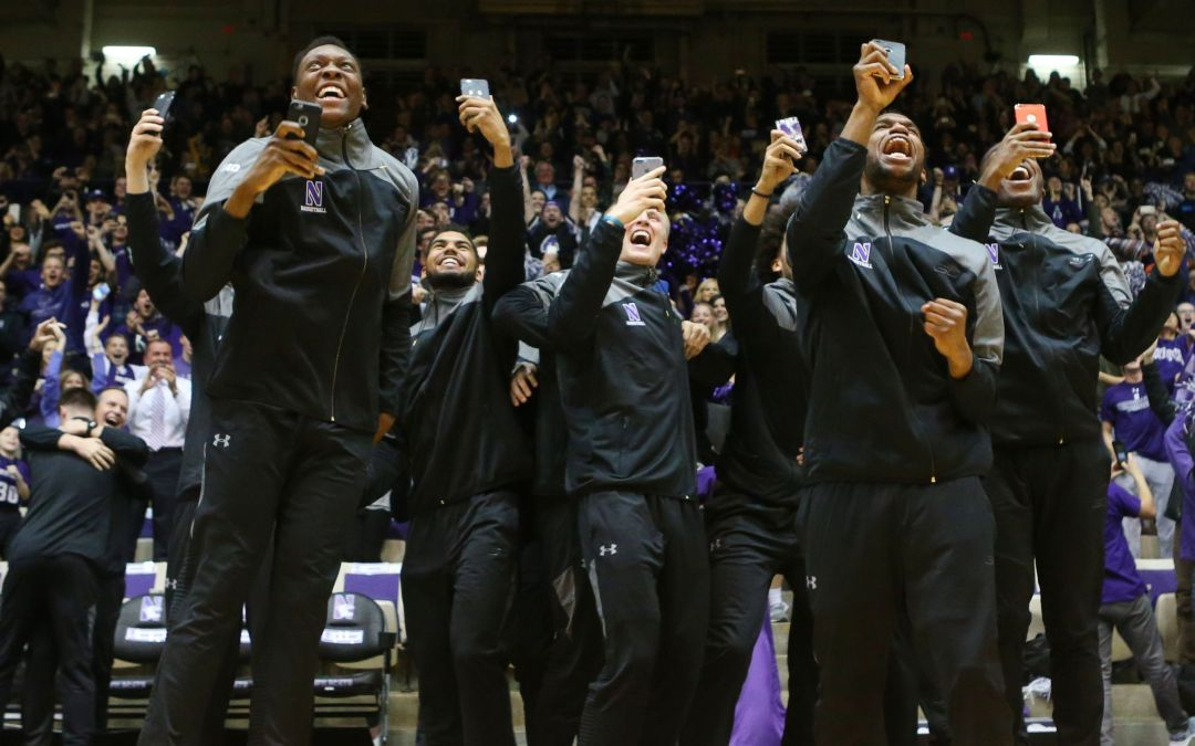 The first NCAA bid only a beginning for Northwestern and coach Chris Collins