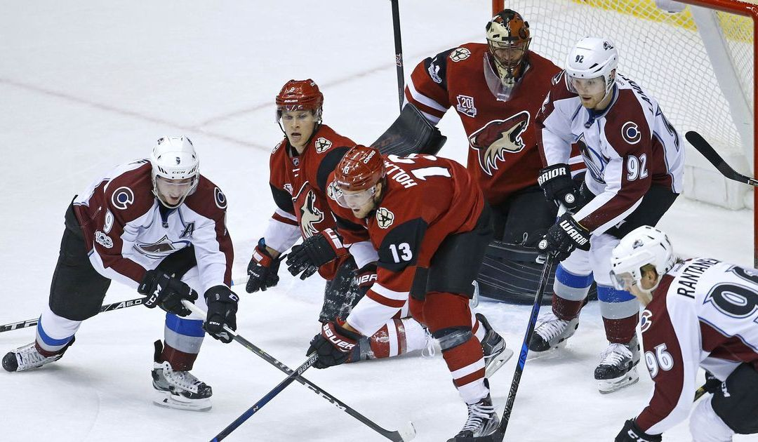 Arizona Coyotes' Mike Smith sets franchise shutout record in win over Colorado Avalanche