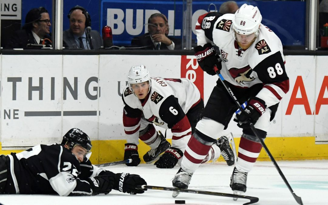 Arizona Coyotes win 11-round shootout over Los Angeles Kings