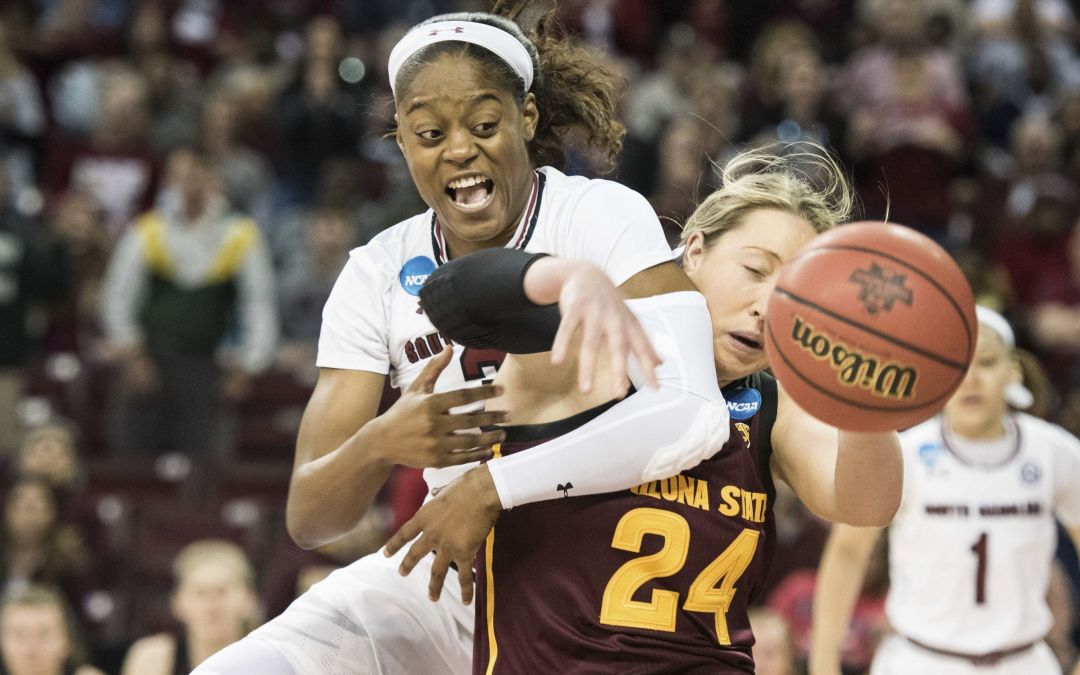 Arizona State women's upset bid falls short against South Carolina