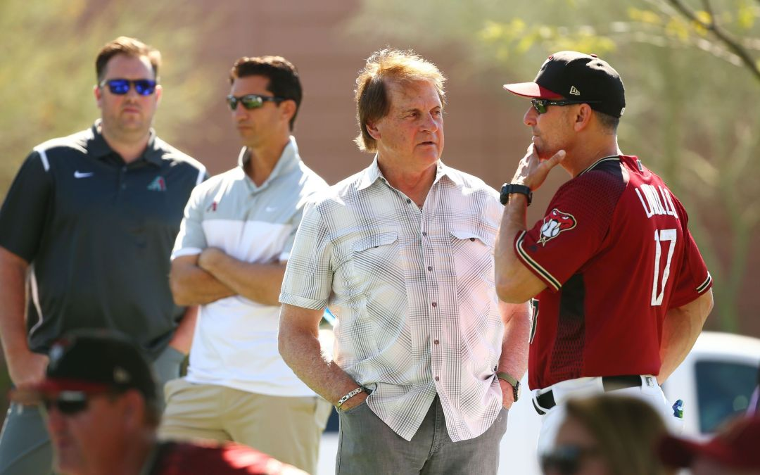 Tony La Russa settling into new role with Diamondbacks