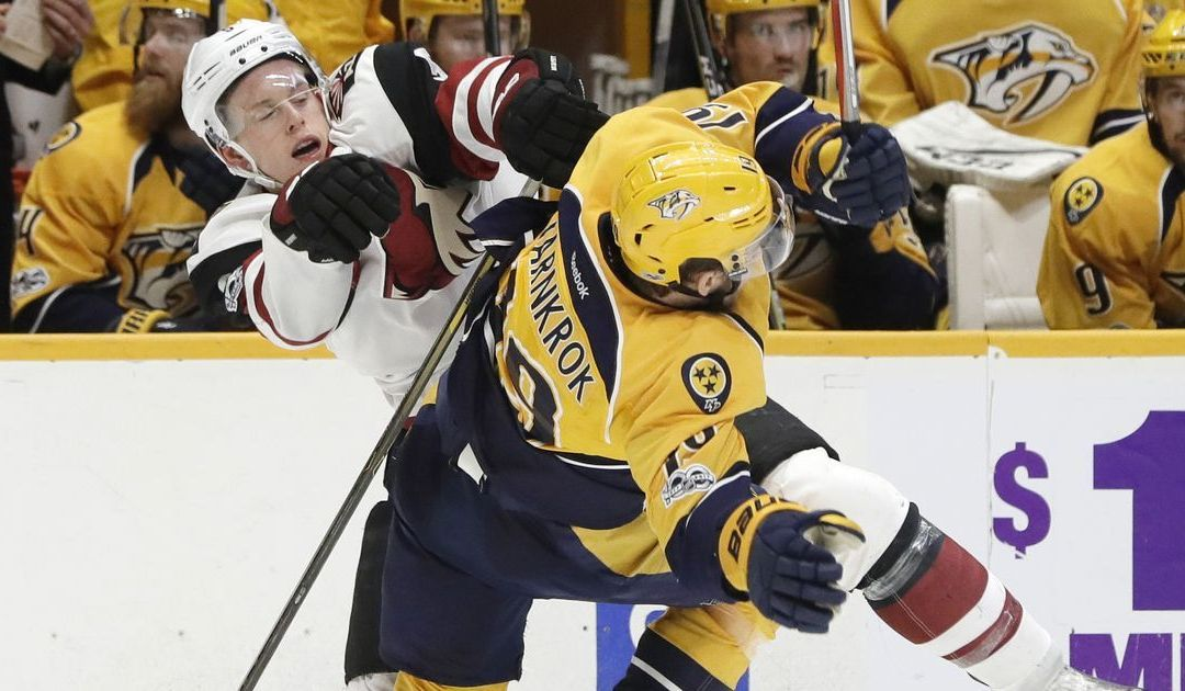 Coyotes officially eliminated from playoffs with loss to Predators