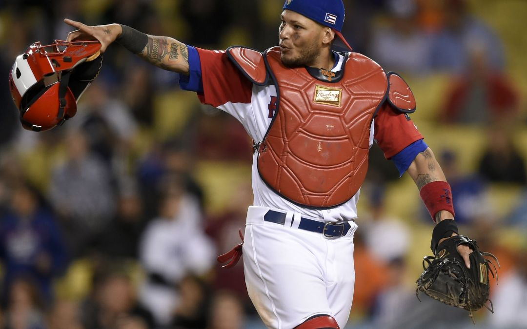 Yadier Molina, Puerto Rico's heart and soul in the World Baseball Classic