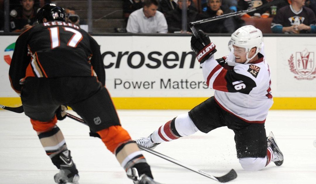 Arizona Coyotes equipment staff must react on the fly