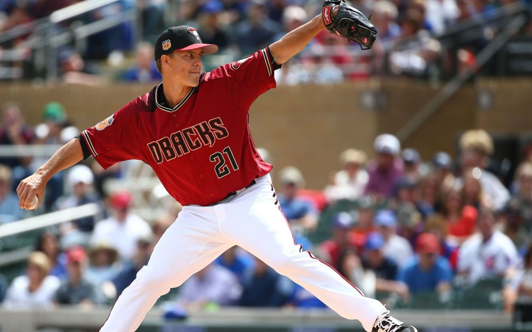Diamondbacks' Zack Greinke pleased with outing vs. Cubs
