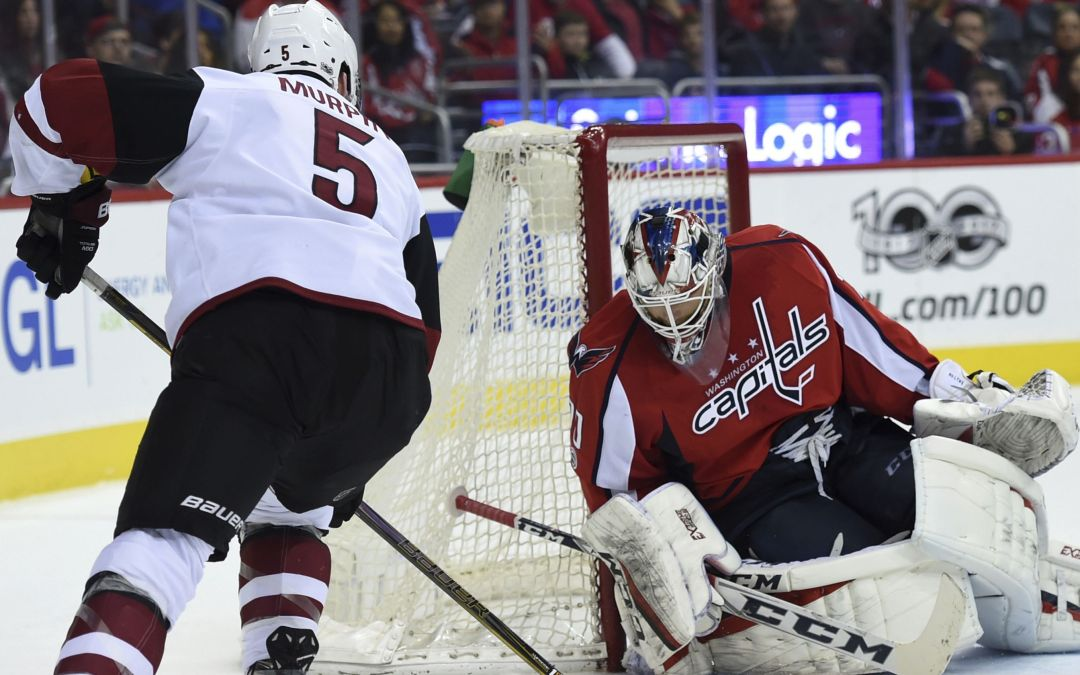 Lessons abound in Arizona Coyotes' loss to NHL-leading Washington Capitals