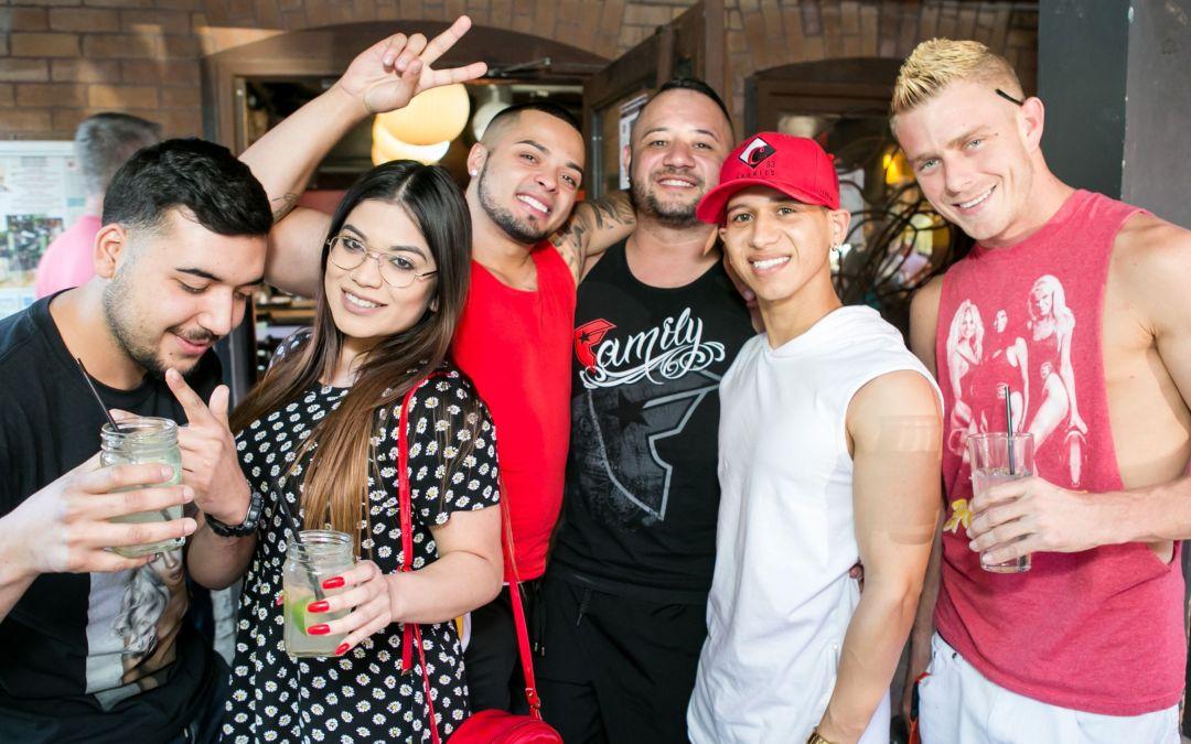 Photos: 10 Days of Pride – Sunday Funday at Bliss Rebar