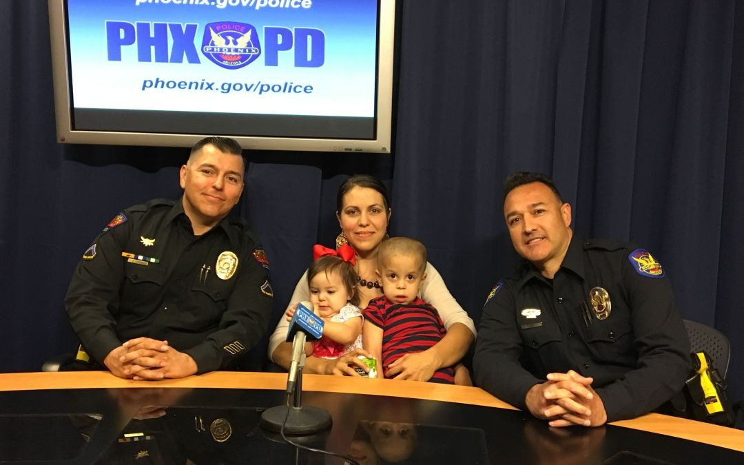 4 girls' dads couldn't take them to a father-daughter dance, so Phoenix and Avondale officers stepped in