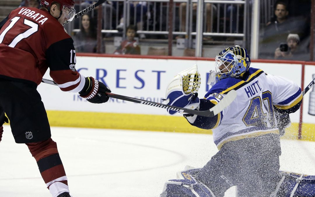 Arizona Coyotes' scoring woes continue in another loss to St. Louis Blues