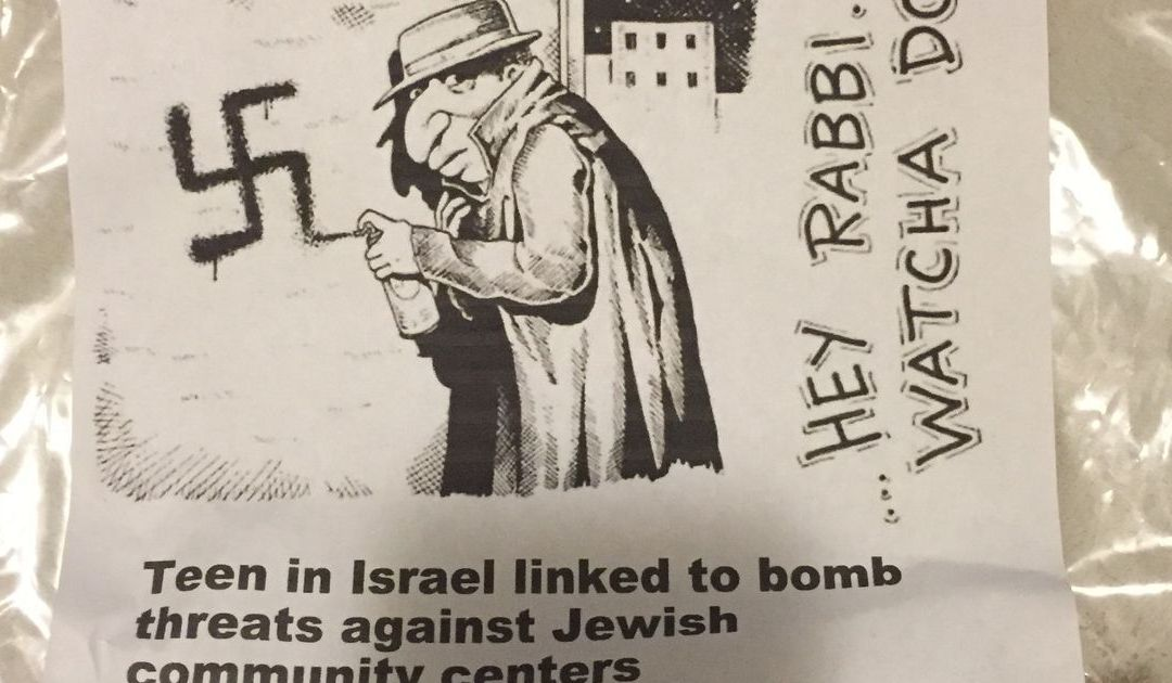 Anti-Semitic fliers in Scottsdale contain no threat, violate no laws