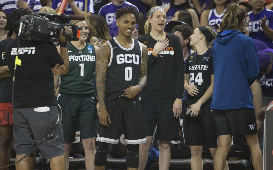 GCU, DeWayne Russell emerge in College Slam Dunk and 3-point Championships