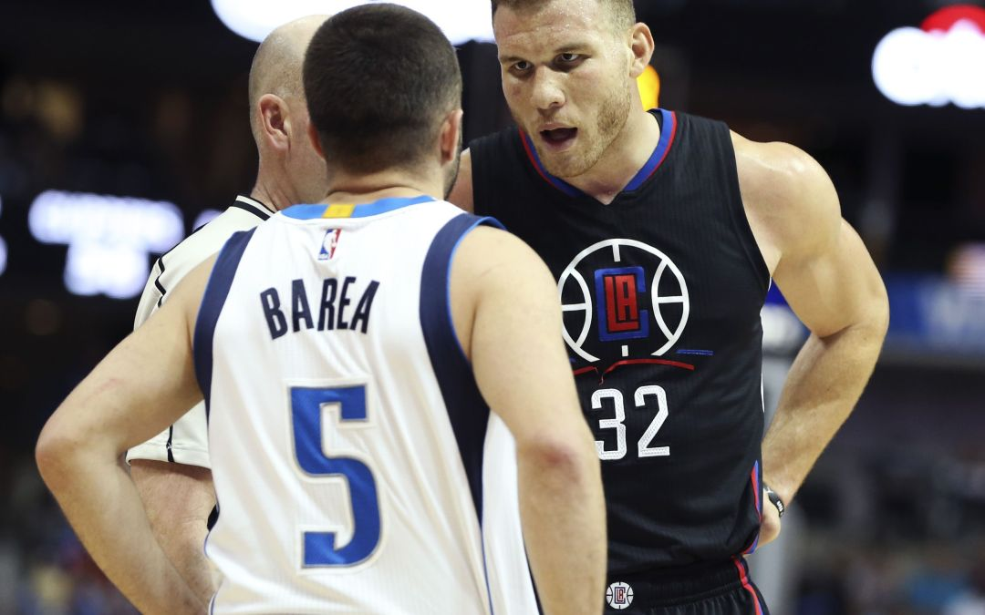 Barea ejected for flagrant, but did Griffin flop?