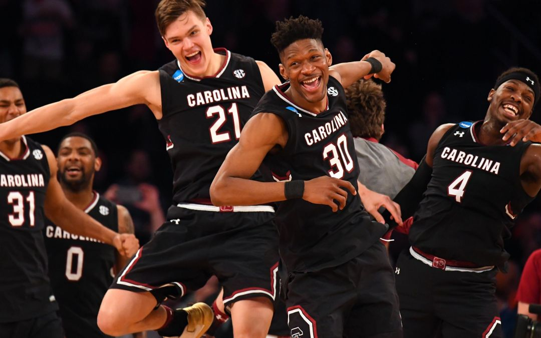 South Carolina's classy move after routing Baylor