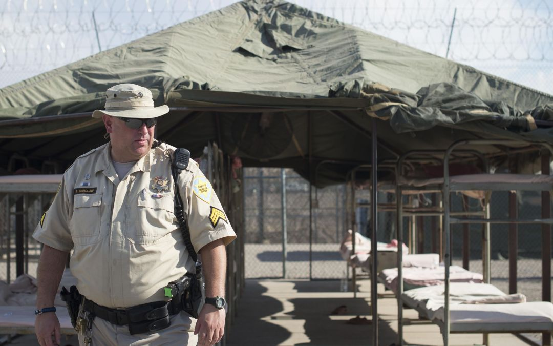 Tent City, infamous home of inmates who wear pink underwear and major piece of Arpaio's legacy, is closing