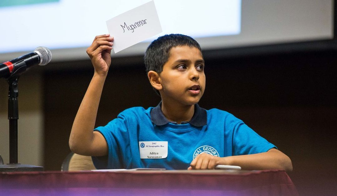 Scottsdale fifth-grader wins state contest, becomes eligible to compete in National Geographic Bee
