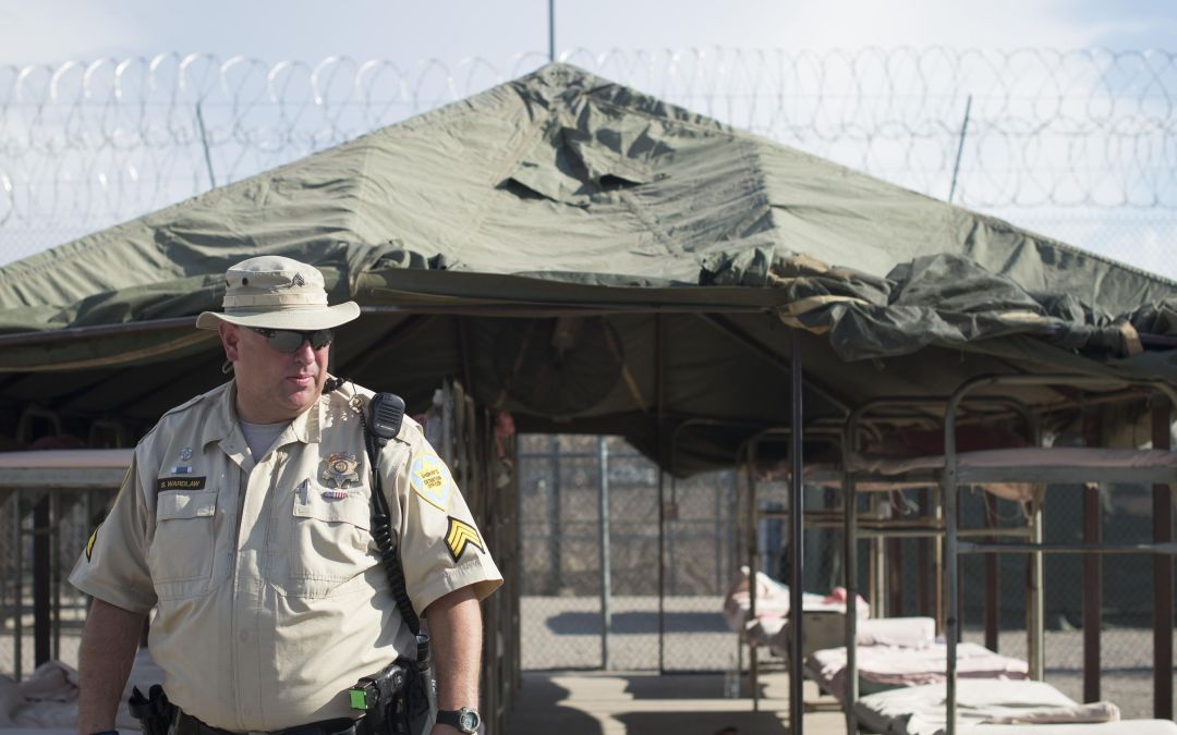 Tent City, infamous home of inmates who wear pink underwear and a major piece of Arpaio's legacy, is closing