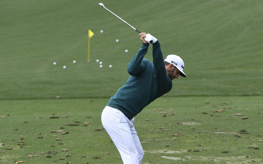 Dustin Johnson explains his decision to withdraw from Masters