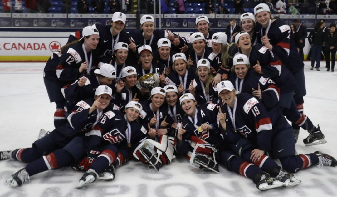 Hilary Knight's OT goal gives Team USA gold over Canada at World Championships