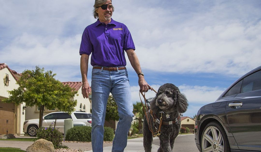 How one night in Chandler aims to change perceptions of visual impairments
