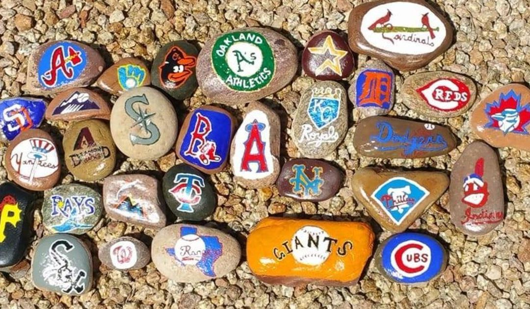 Why a Mesa man painted all 30 MLB team logos on rocks