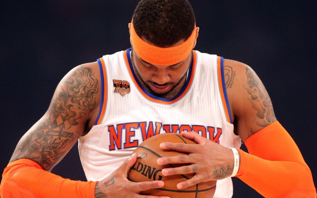Knicks' Carmelo Anthony 'would be better off somewhere else'