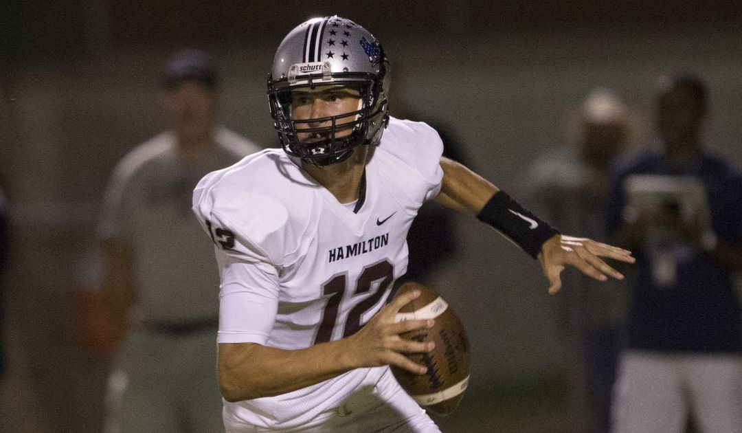 Hamilton QB Tyler Shough receives Alabama offer 'out of the blue'