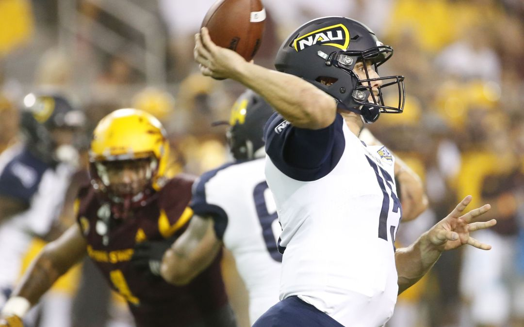 Adversity doesn't faze NAU quarterback Case Cookus