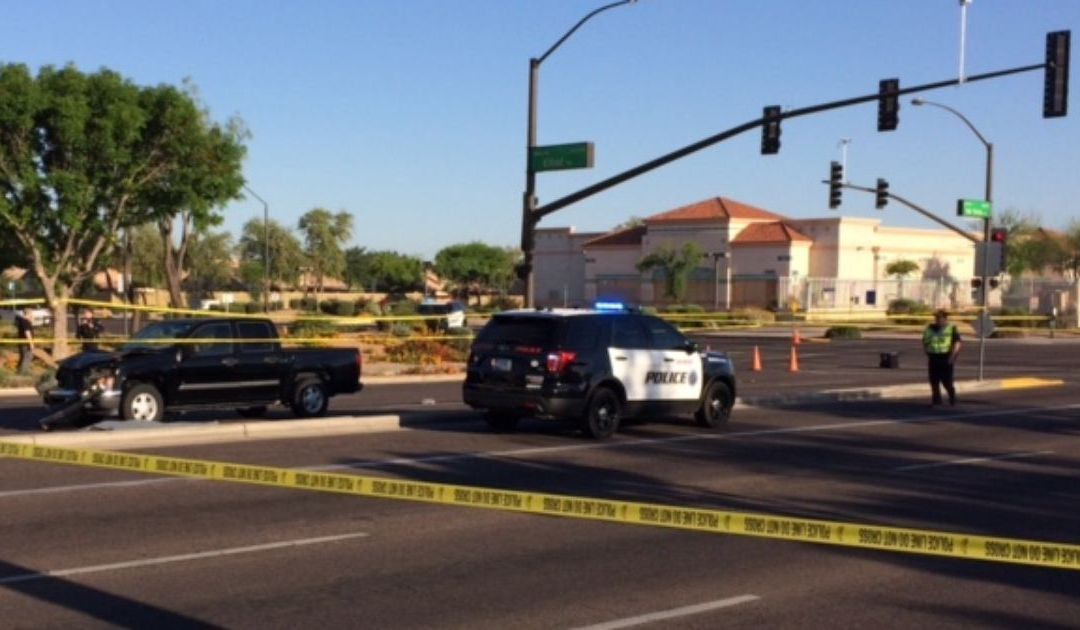 1 dead, 1 hurt after truck hits pedestrians in Gilbert