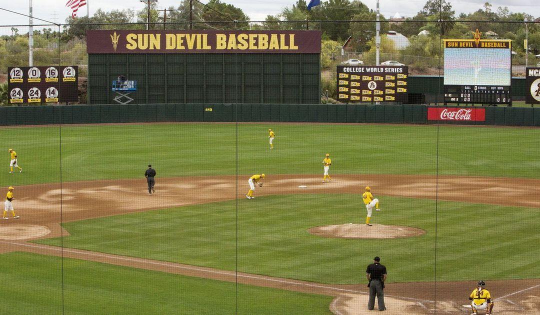 ASU baseball bats around twice to beat Cal State Bakersfield