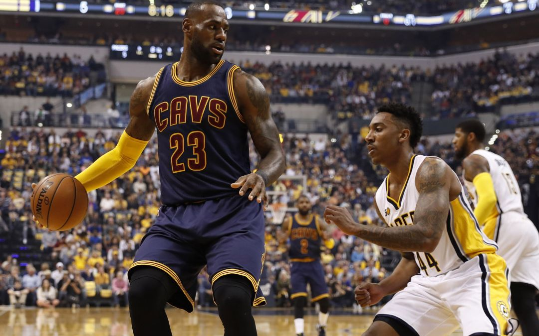 LeBron James, Cavs sweep Pacers, advance to second round of NBA playoffs