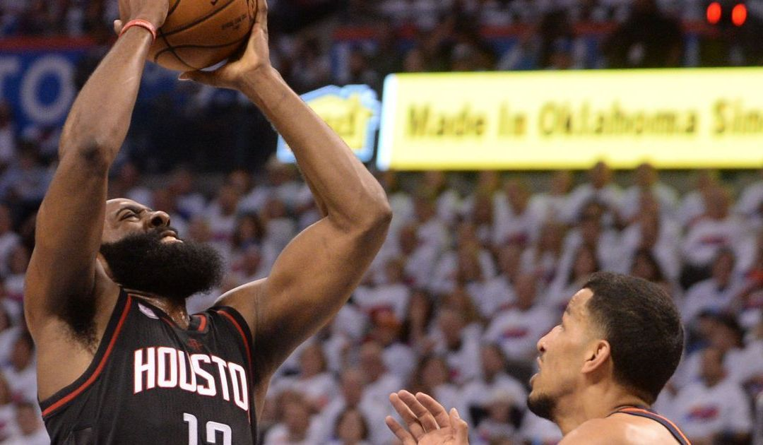 Harden, Rockets seize control of series vs. Thunder using new formula