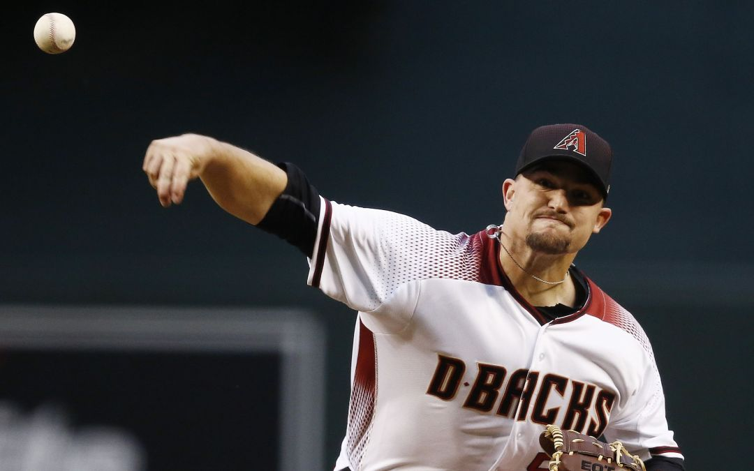 Zack Godley keeping Padres silent through 3