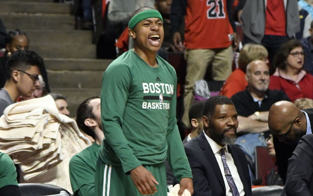 Celtics' Isaiah Thomas headed to sister's funeral after Game 6 win