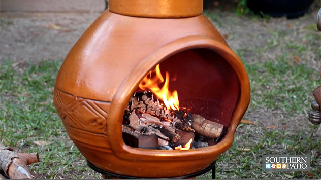 Using a Fire Bowl or Chiminea in Your Outdoor Space