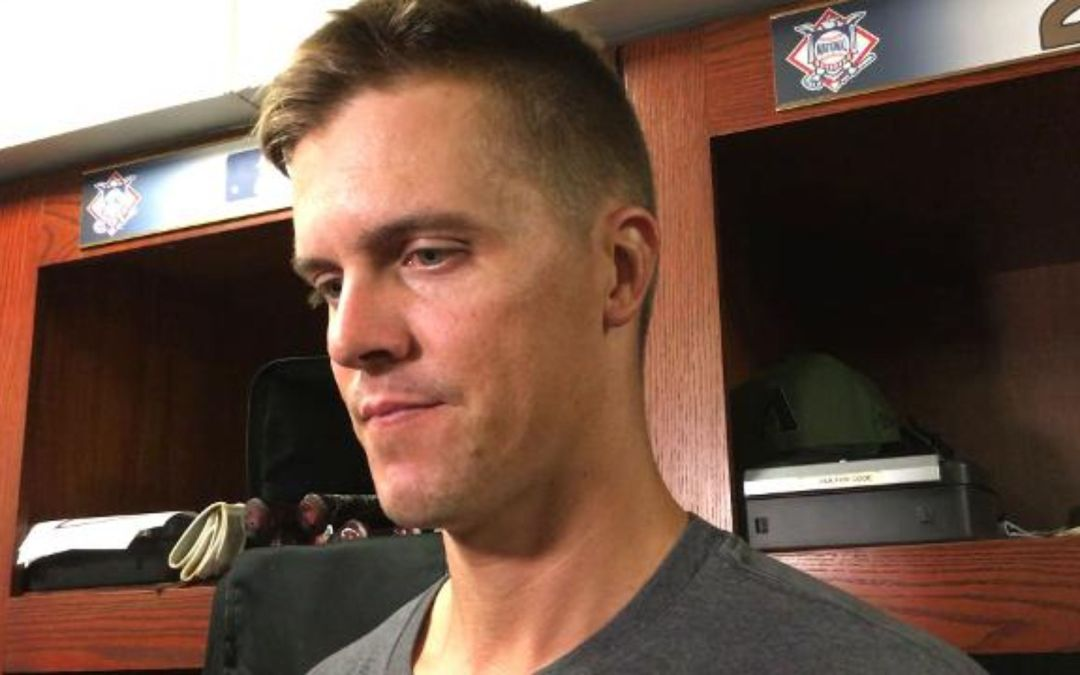 Zack Greinke on his outing in loss to Brewers